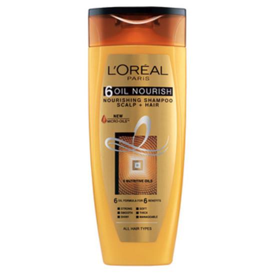 L'Oreal Paris 6 Oil Nourish Shampoo (175 Ml)