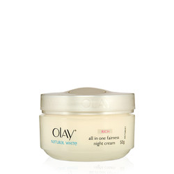 Olay Natural White Rich All in One Fairness Night Cream (50 g)