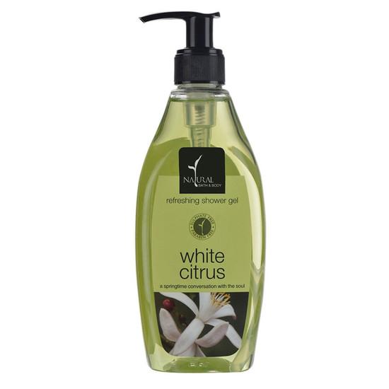 Natural Bath & Body White Citrus Refreshing Shower Gel (250 Ml)