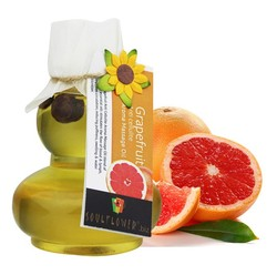 Soulflower Aroma Massage Oil Grapefruit Anti-Cellulite (90 Ml)