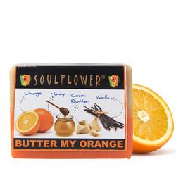 Soulflower Soap Butter My Orange (150 G)