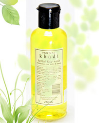 Khadi Face Wash With Honey, Rose Water & Lemon (210 ml)