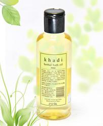 Khadi Bath Oil With Rose (210 Ml)