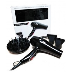 Corioliss Professional Salon Hair Dryer  Flow Black