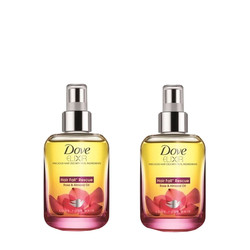 Dove Elixir Hair Fall Rescue Hair Oil (90 Ml) - Pack Of 2