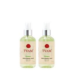 TVAM Rosemary & Jojoba Shampoo (200 Ml) (Pack Of 2)