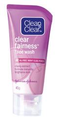 Clean & Clear Clear Fairness Face Wash (40 G)