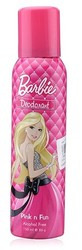 Barbie Deodorant Pink And Fun (150 Ml)