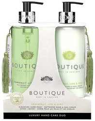 Grace Cole Boutique Hand Grapefruit, Lime & Mint Hand Wash & Hand & Nail Cream Luxury Hand Care Duo