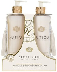 Grace Cole Boutique Nectarine Blossom & Grapefruit Luxury Hand Care Duo Hand Wash, Hand & Nail Cream