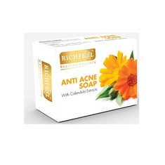 Richfeel Anti Acne Soap With Calendula Extracts (75 g)