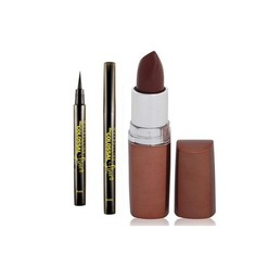 Maybelline The Colossal Liner (1.2 g) + FREE Maybelline Color Sensational Lip Color Earthly Taupe 816 (4 g)