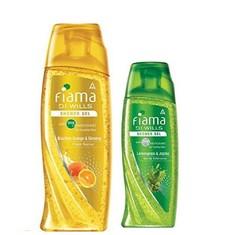 Fiama Di Wills Brazillian Orange & Ginseng Shower Gel (250 Ml) + FREE Fiama Di Wills Lemongrass & Jojoba Shower Gel (100 Ml)