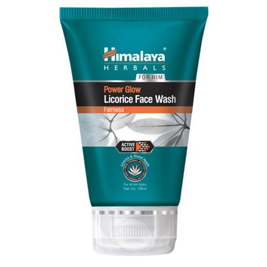 Himalaya Herbals FOR HIM Power Glow Licorice Face Wash (50 Ml)