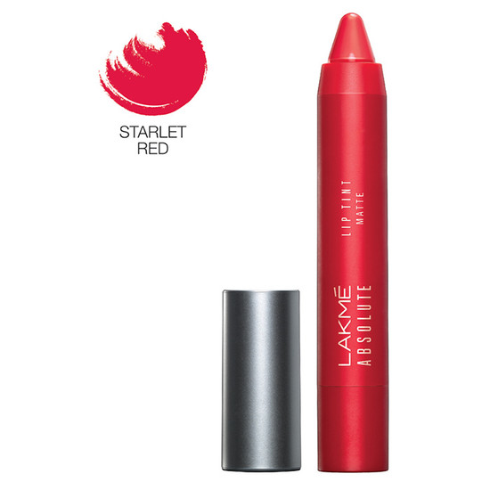 Lakme Absolute Lip Pout  Matte Lip Color - Starlet Red (3.5 G)