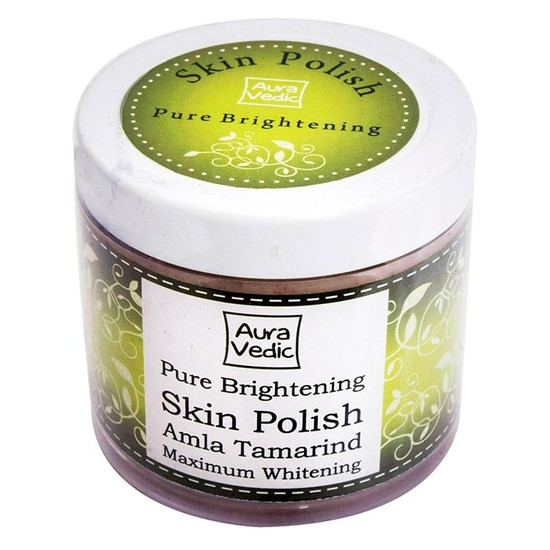 Auravedic Pure Brightening Skin Polish(100 G)