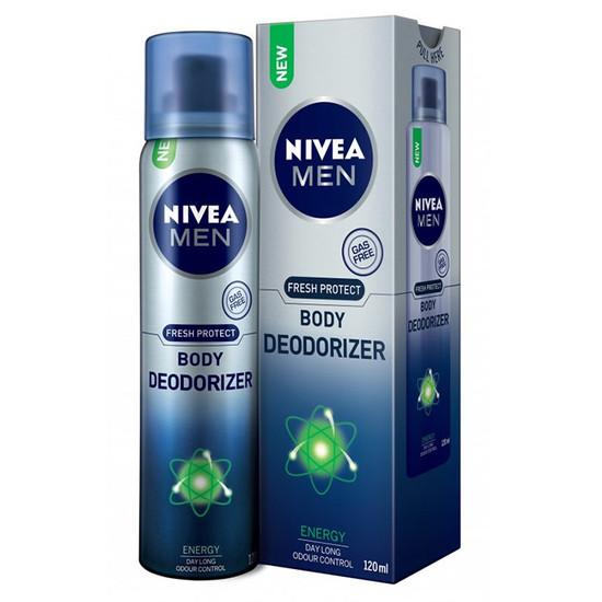 Nivea Men Energy Body Deodorizer (Deodorant)(120 Ml)