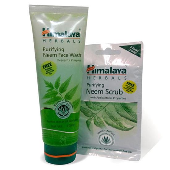 FREE Himalaya Herbals Purifying Neem Scrub (12 G) On Himalaya Purifying Neem Face Wash (100 Ml) (On Pack)