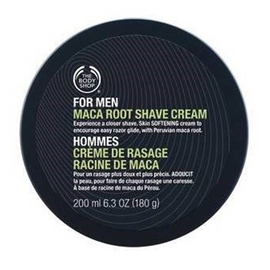 The Body Shop For Men Maca Root Shave Cream (200 Ml)