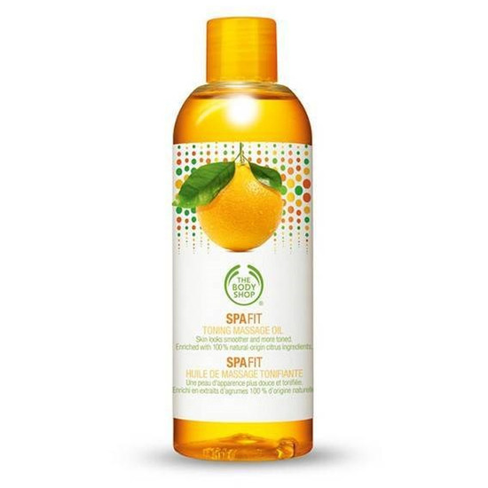 The Body Shop Spa Fit Toning Massage Oil(150 Ml)